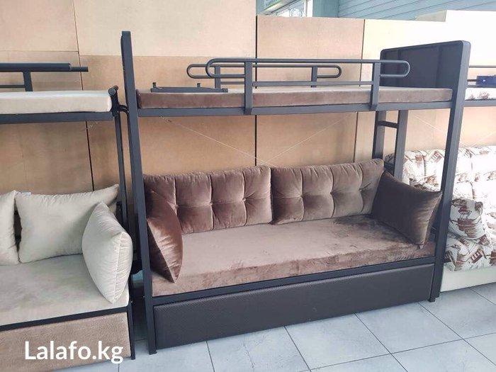 Диван люкс коричневыйДиван быстро и легко превращается в комфортную в Бишкек