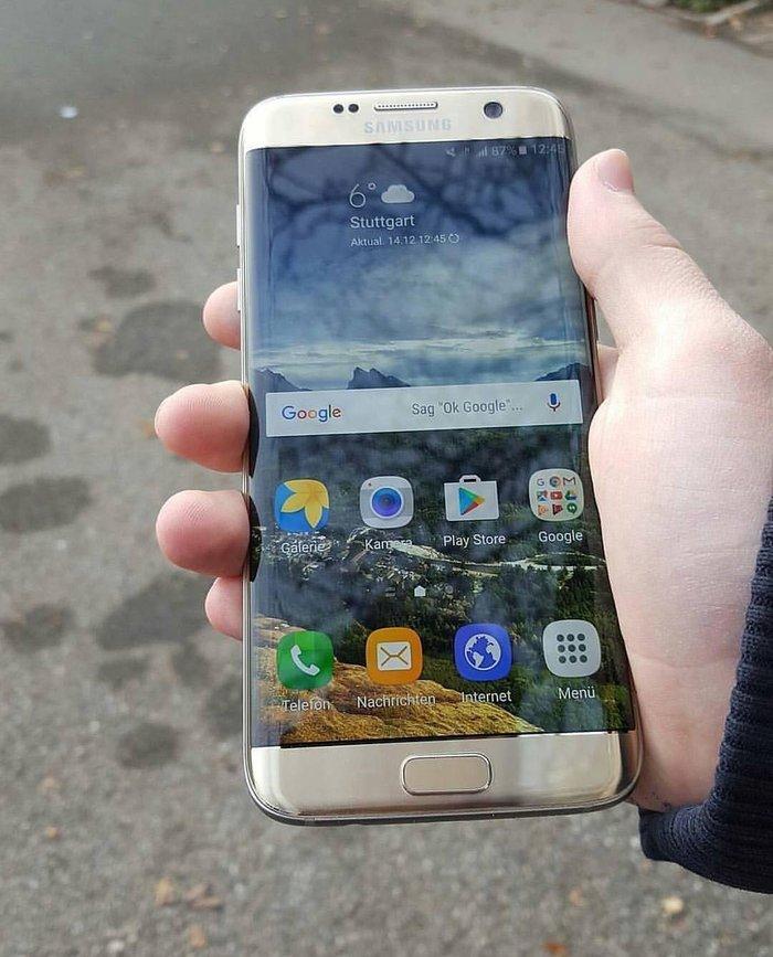 Samsung galaxy s7 edge помять 32 гб, оргинал телефон из южной Кореи. о в Бишкек