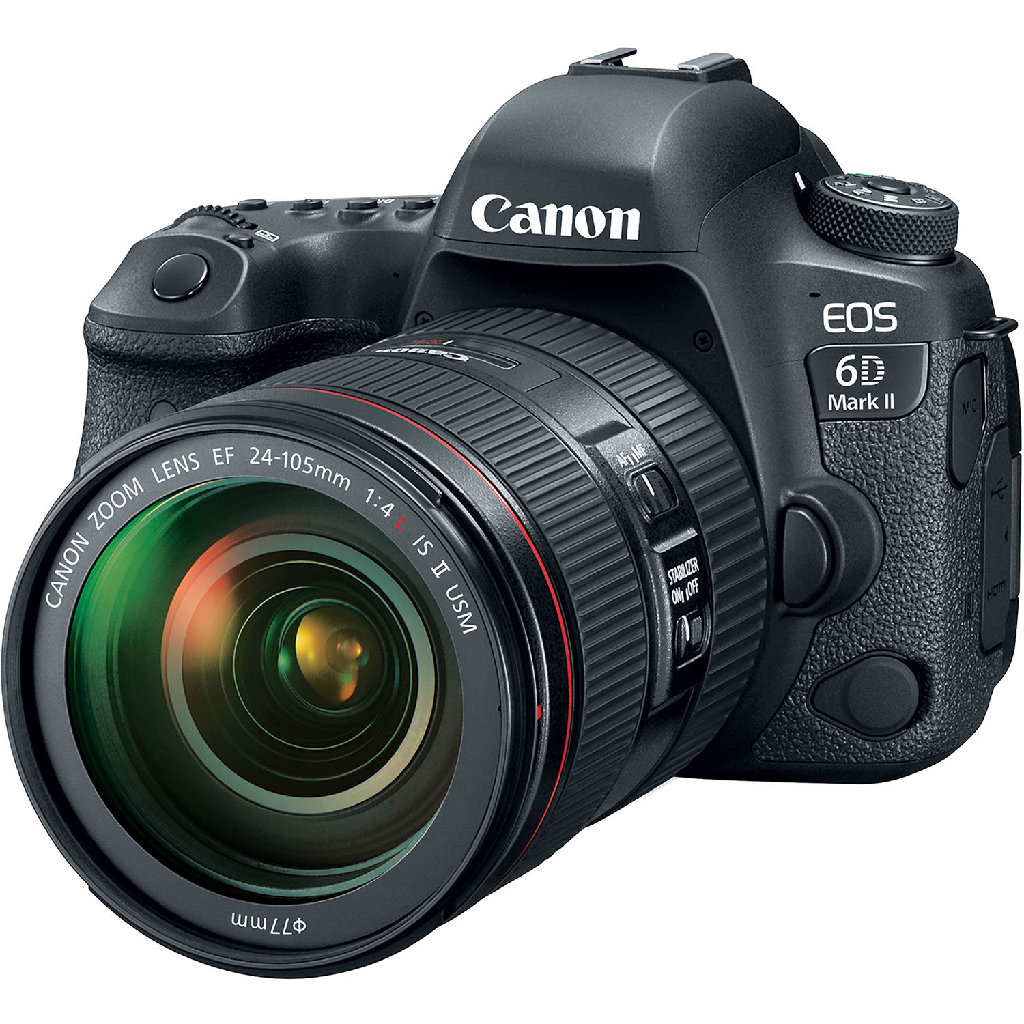 Canon EOS 6D Mark II 26.2 MP SLR - EF 24-105mm