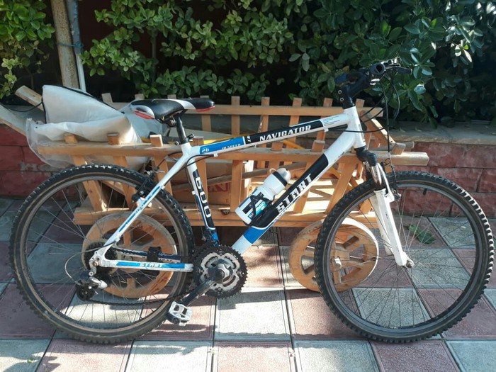 Sportivni velosipet ela veziyyetde tecili satilir qiymeti 260 man tel . Photo 2