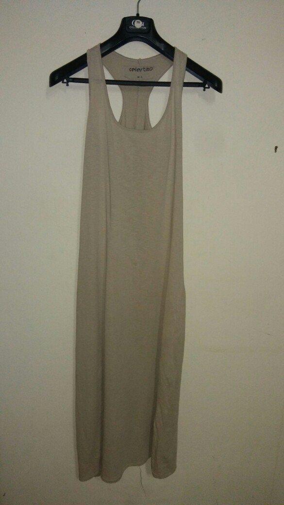 30f315dd0668 Celestino μακο μαξι φορεμα σε μπεζ χρωμα ml for 6 EUR in Αθήνα ...