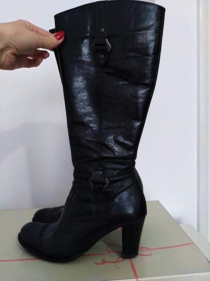 Čizme kožne, u dobrom stanju, izuzetno udobne, vel. 39. Photo 1