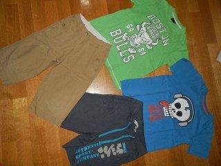 Σετ για 6χρ (2 μπλουζακια next, βερμουδες gap και admiral). Photo 0