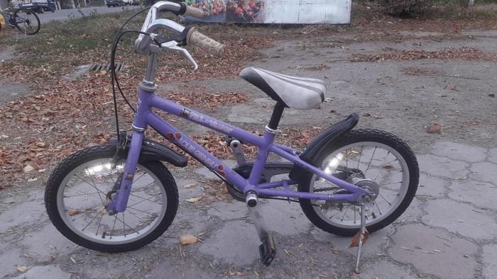 Велосипед детский из Кореи алюминиевая рама состояние 9 из 10. Photo 0