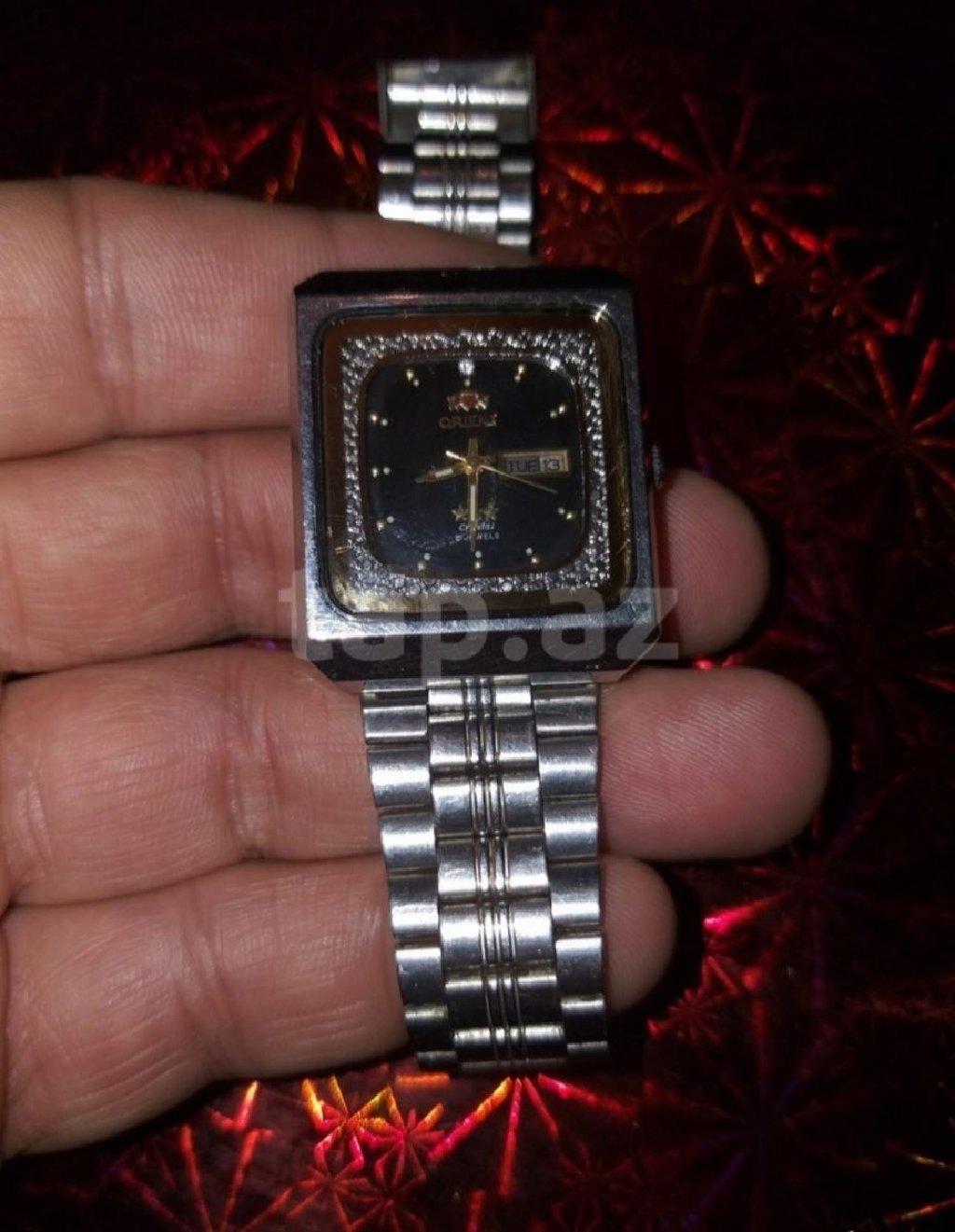 Gümüşü Kişi Qol saatları Orient