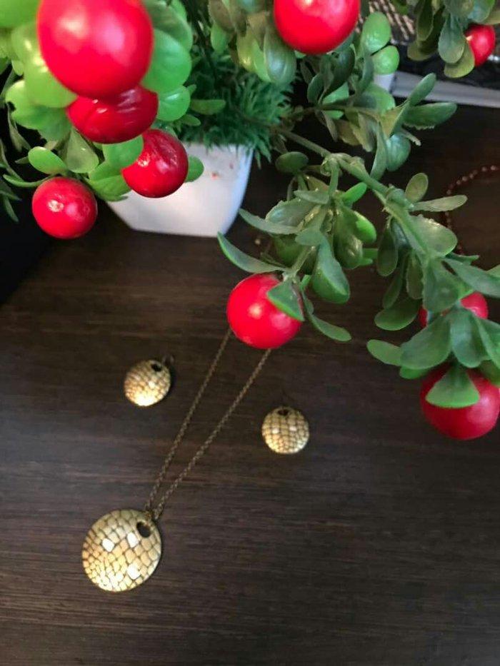 Серьги, цепочка с кулоном, бижутерия от орифлэйм по цене: 300 KGS: Серьги, цепочка с кулоном, бижутерия от орифлэйм