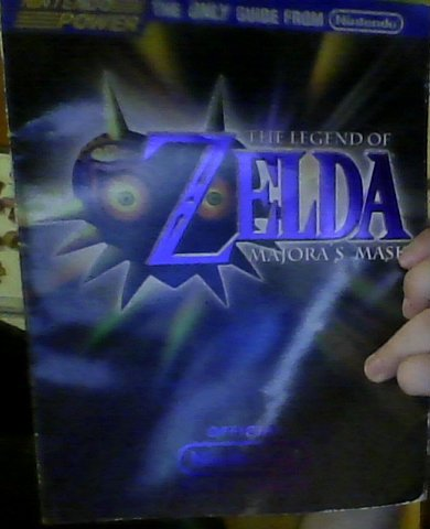 GAME guide. Συλλεκτικο του 2000 , για το Zelda Majoras Mask, της σε Αθήνα