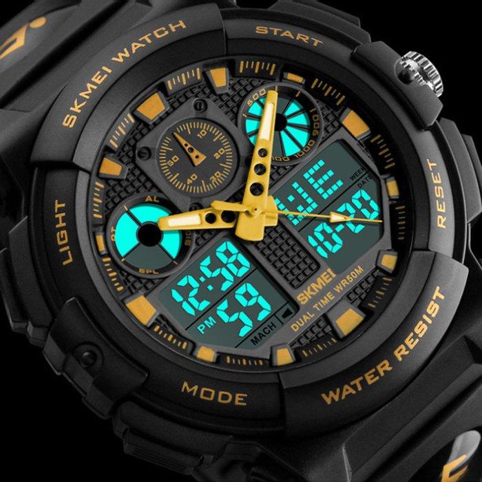 Αδιάβροχα ρολόγια με λουρακι σλικόνης καινούργια με συσκευασία. Photo 2