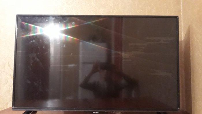 продаю телевизор рабочий,диагональ 43,yasin. только матрица разбита на в Лебединовка