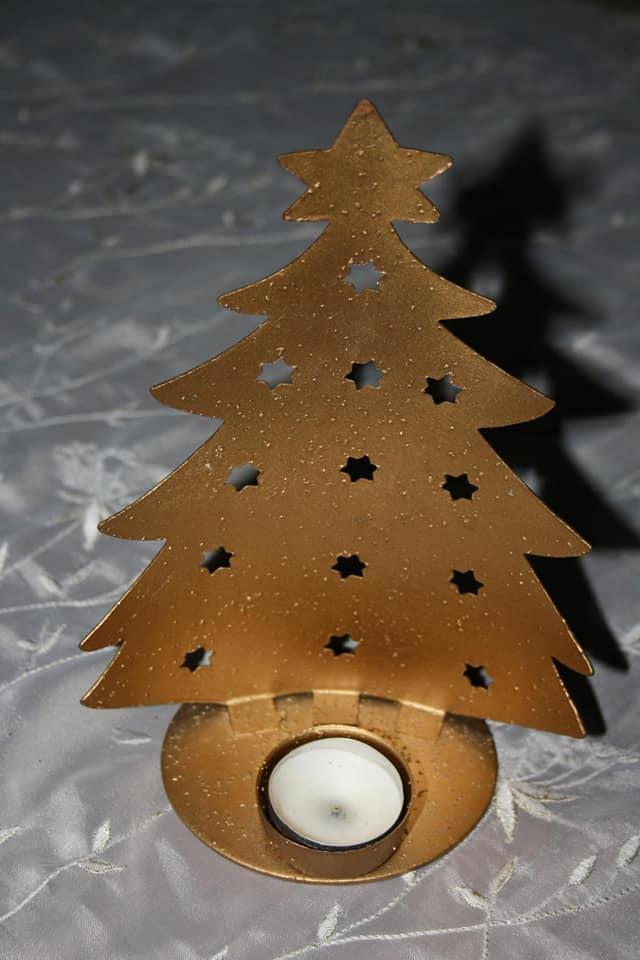 Σετ χριστουγεννιάτικα κηροπήγια.. Photo 2