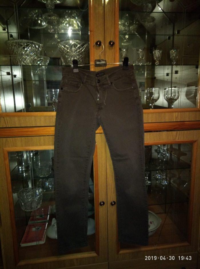 Штаны коричневые. Photo 0
