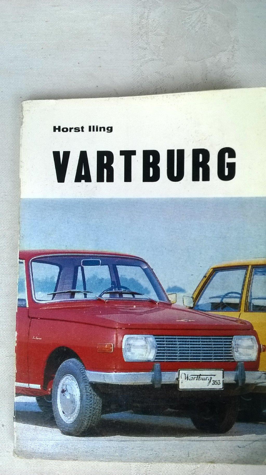 Tehnicka knjiga: Vartburg, 187 str. 1979. sa elektrosemama, kao nova