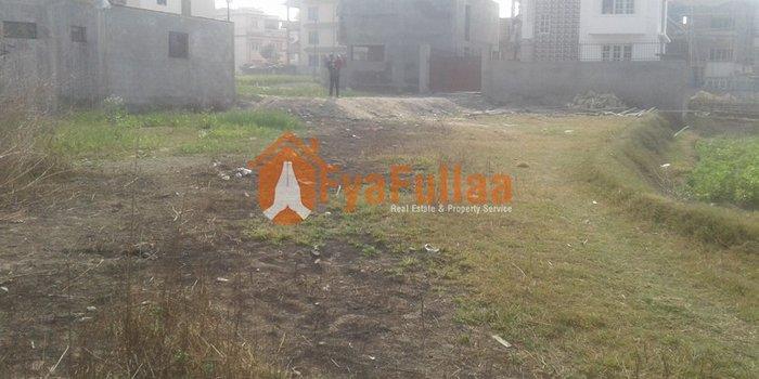 land having area 1-0-0-0, facing east, 10 feet  road is on sale at in Kathmandu