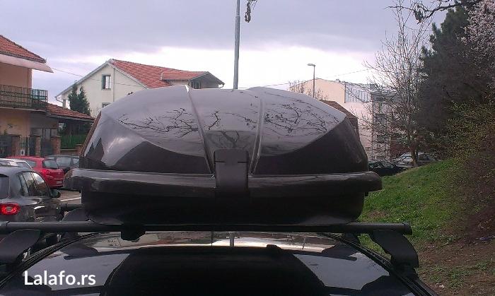 Iznajmljujem krovni kofer cam 435 airtek, zapremine 430 litara. - Beograd