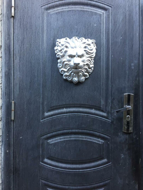 Лев алюминиевый для ворот, заборов, ковки 30 х 30 размер: Лев алюминиевый для ворот, заборов, ковки 30 х 30 размер