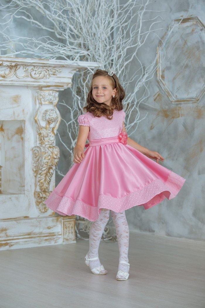 платье на девочку  5-8 лет. на хб подкладке. скидка! в Бишкек