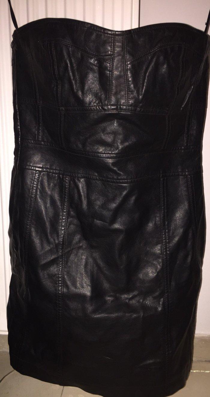 Φόρεμα strapless , δερματινο Berska . Ολοκαίνουργιο . Νο small 18€ σε Υπόλοιπο Αττικής