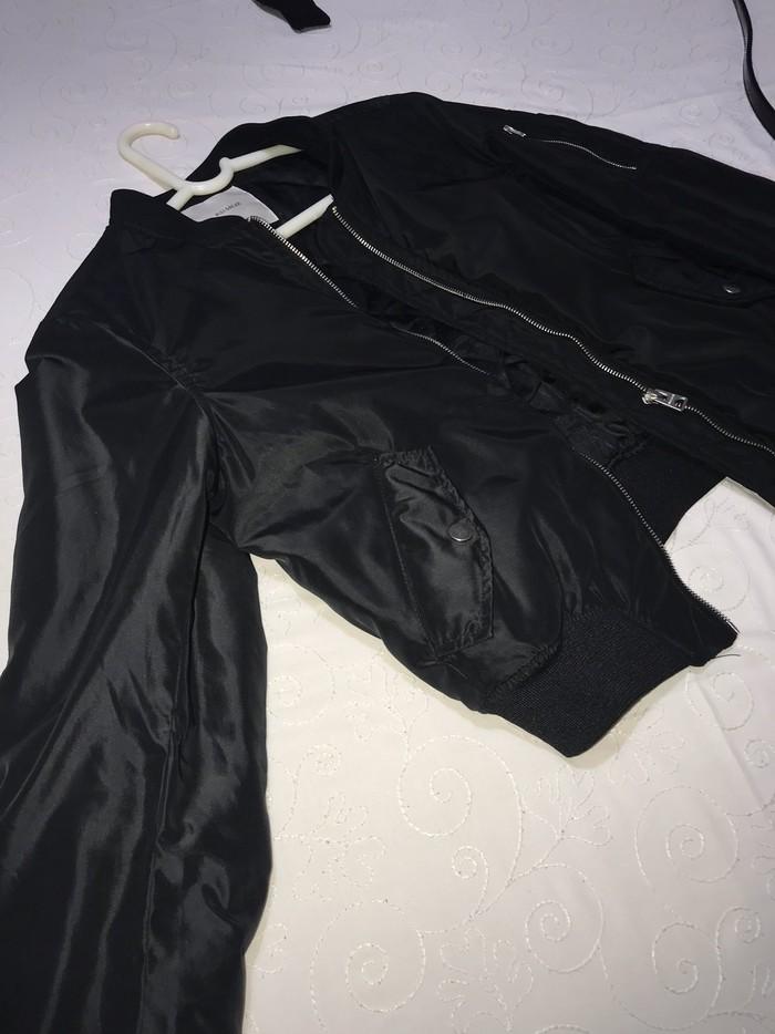 Μαυρο μπουφαν fly νουμερο medium . Photo 2