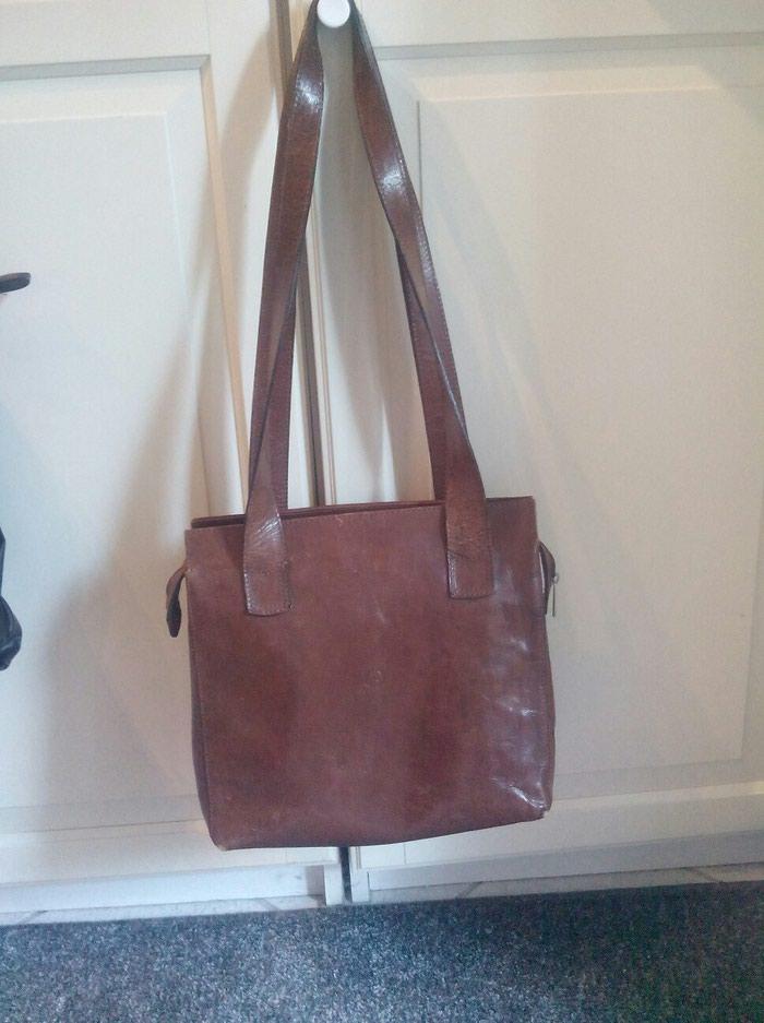 Τσάντα δερμάτινη αγορά από Ιταλία. Photo 0