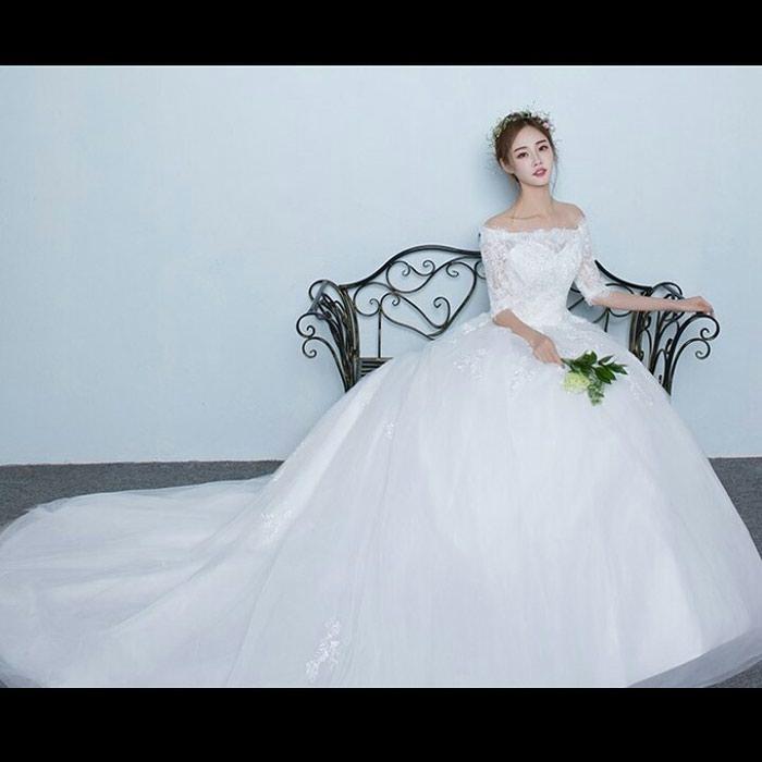 e3679d846d1 Свадебное платье Новое на Продажу Размер 42 44 46 Производство Корея в  Бишкек