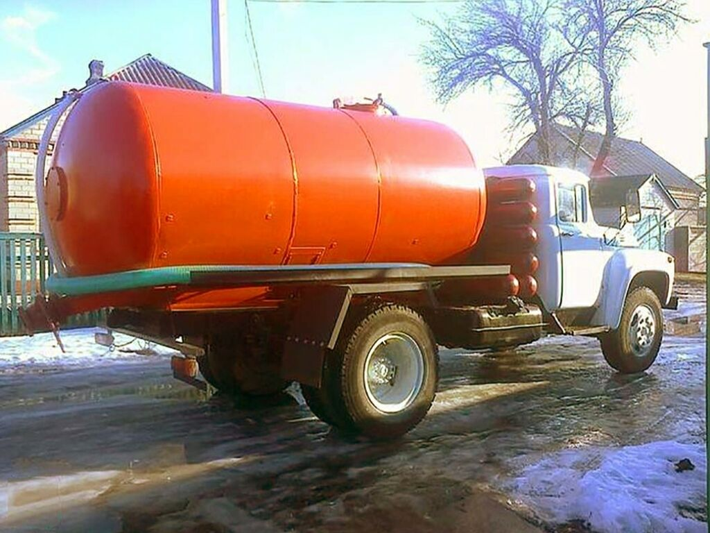 Ассенизатор (Гавновоз) ЗИЛ 130 откачка септик и туалет продувка: Ассенизатор (Гавновоз) ЗИЛ 130 откачка септик и туалет продувка