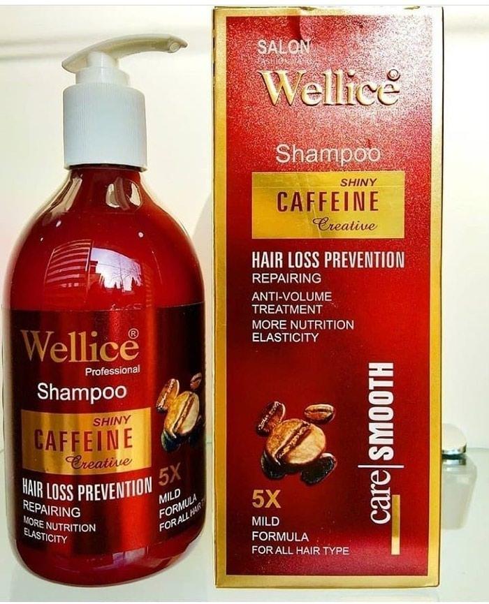 Wellice firmasinin Kaffein terkibli sampun 5 fayda ile.. Photo 0