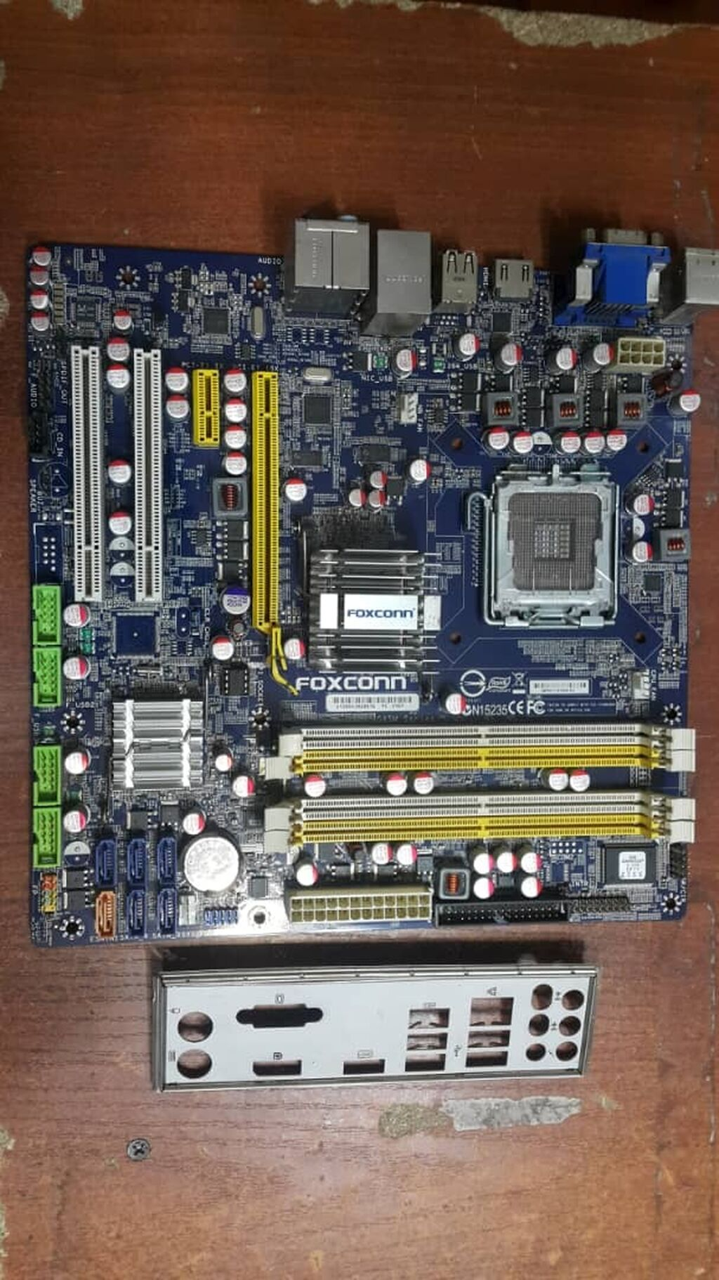 Продам хорошую плату на S 775.Foxconn G45M/ 4 слота под ddr2(до 8gb)/: Продам хорошую плату на S 775.Foxconn G45M/ 4 слота под ddr2(до 8gb)/