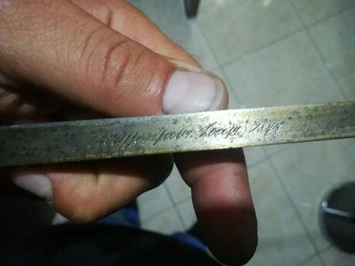 Σπαθι σαμουραι ετος 1876 αντικα. Photo 2