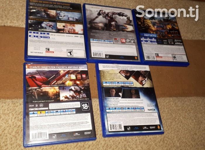 Комплект игр для PS4 5 дисков в  новом  состояний все . Photo 1