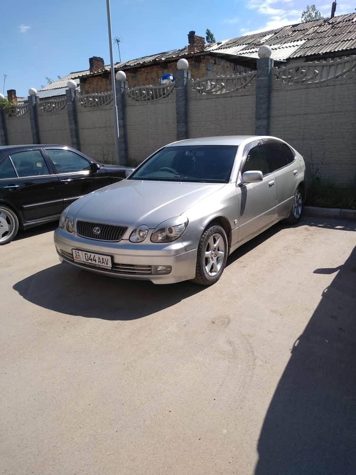 Toyota Aristo 2001. Photo 1