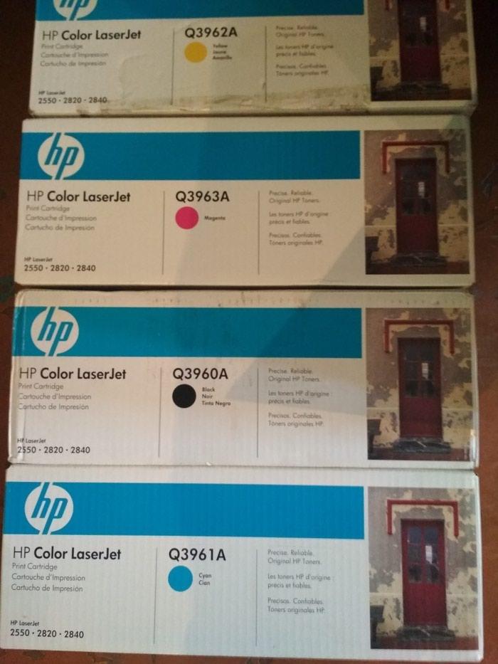 картридж HP LJ Q3960A, Q3961A, Q3962A, Q3963A(оригинал). Photo 1