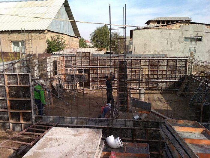 Заливаем фундамент бассейн,любой сложности в Бишкек