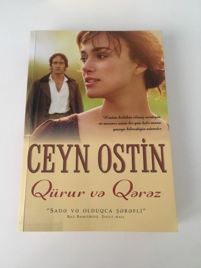 Bakıda 5 AZN Ceyn Ostin-Qürur ve qerez: Kitab, jurnal, CD, DVD ...