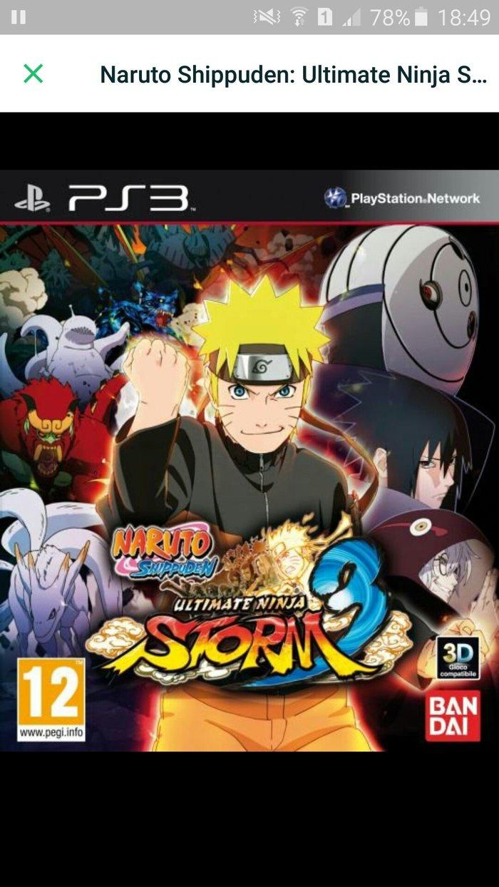 Bakı şəhərində Naruto,  ps3 диск в идеальном состоянии  цена окончательная