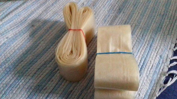 Ketering - Zrenjanin: Creva za kobasice plasticna 10m fi 35 40 250 din fi 50 300din