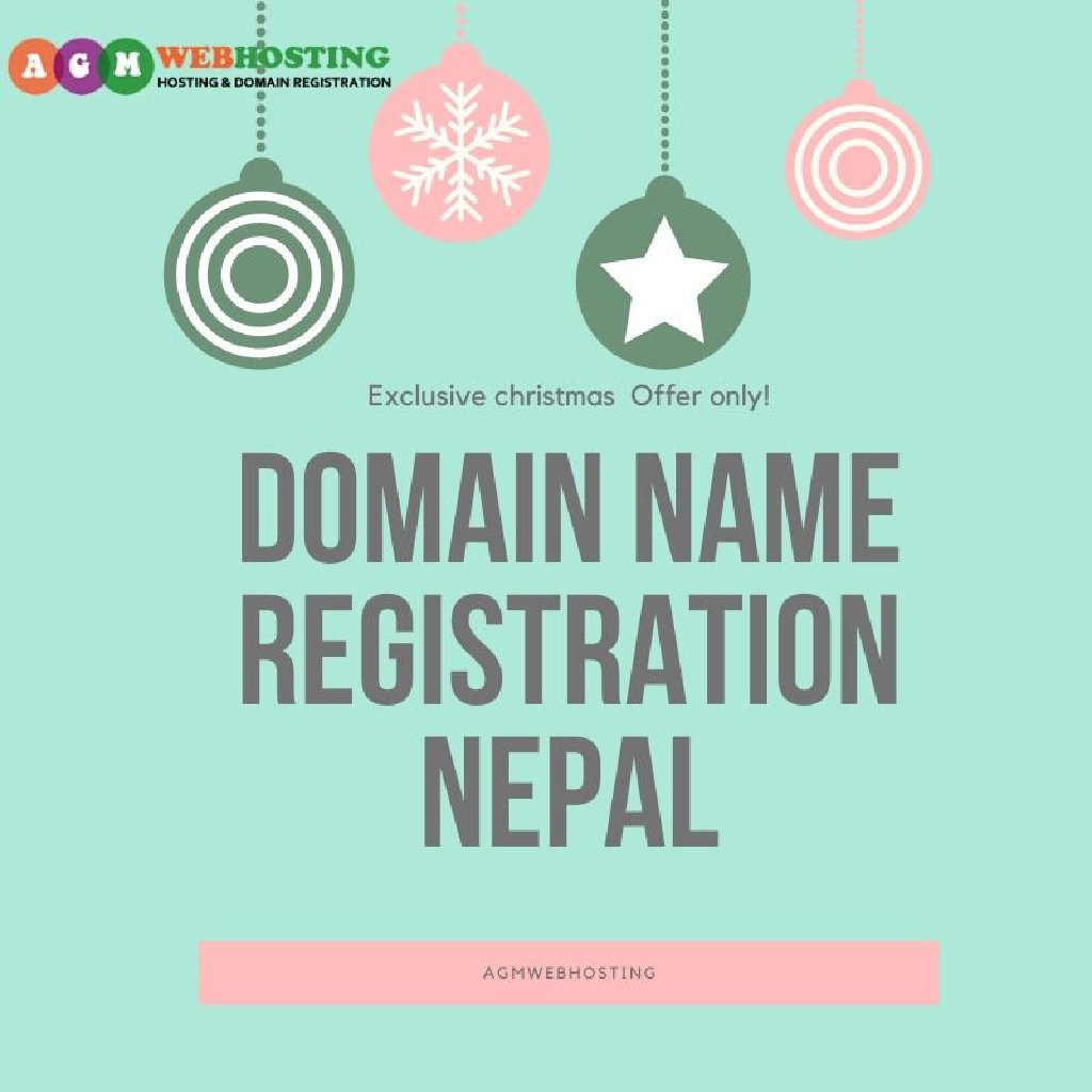 Yes You Heard That Right! Domain Name Registration Nepal Exclusive christmas  Offer only! in nepal at just low  Rupees Only