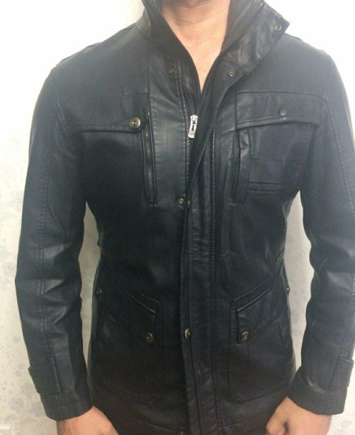 Кожаная куртка новый турецкий размер xxl-xl.но скидки есть... в 9ae0f022b2498