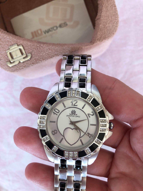 JLO stainless steel women's watch