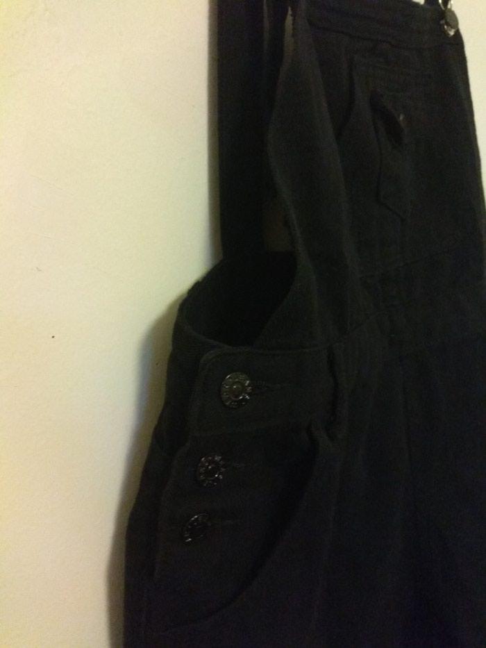 Μαύρη σαλοπετα παντελόνι, μεγεθος xl. Photo 4