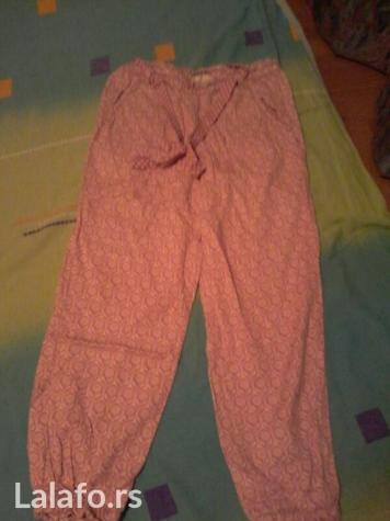 Pantalone decije tanke pamucne h&m vel 6-7. Nove
