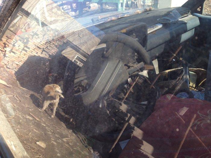 Продаю или меняю на жигули или на скутер говорю сразу машина не находу в Бишкек