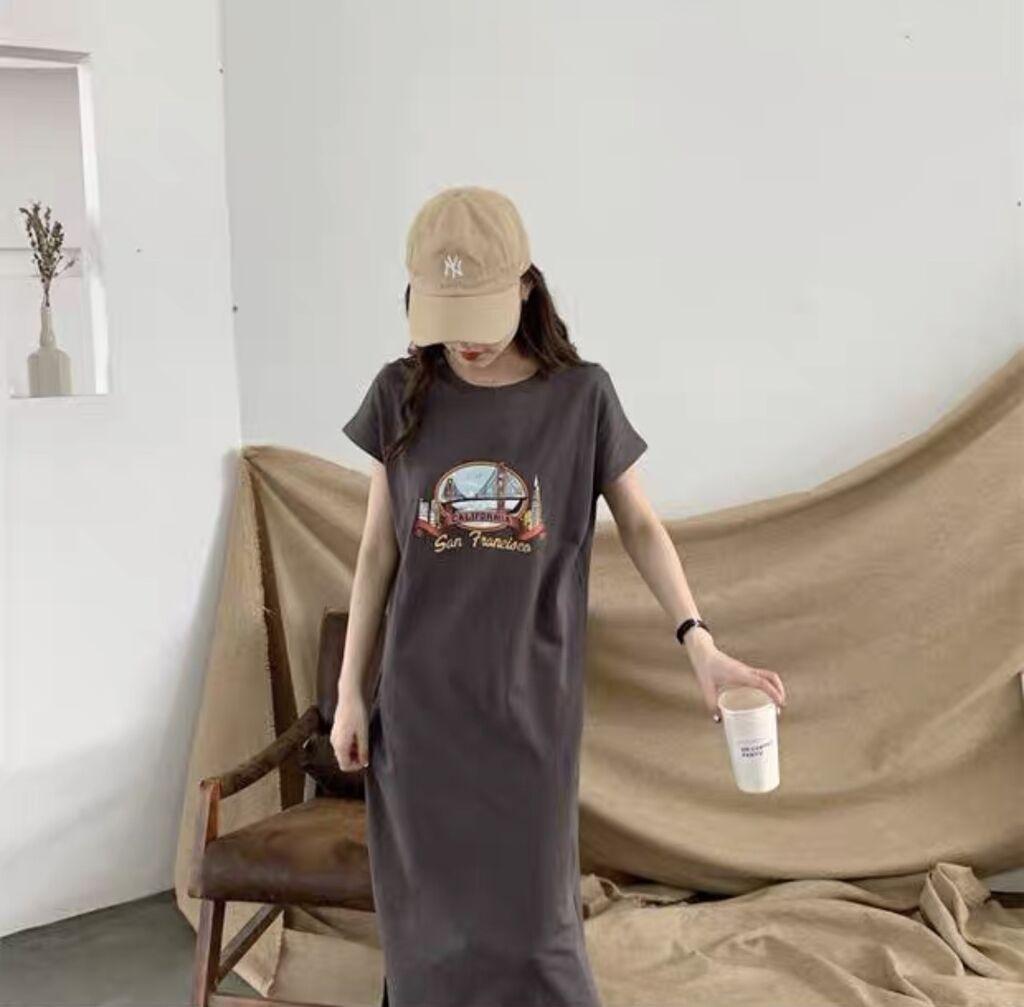 Летнее платье свободного кроя. 100% хлопок. Размер: стандарт (S-M): Летнее платье свободного кроя. 100% хлопок. Размер: стандарт (S-M)