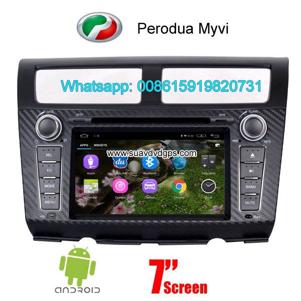 Perodua Myvi Android Car Radio WIFI DVD GPS navigation camera