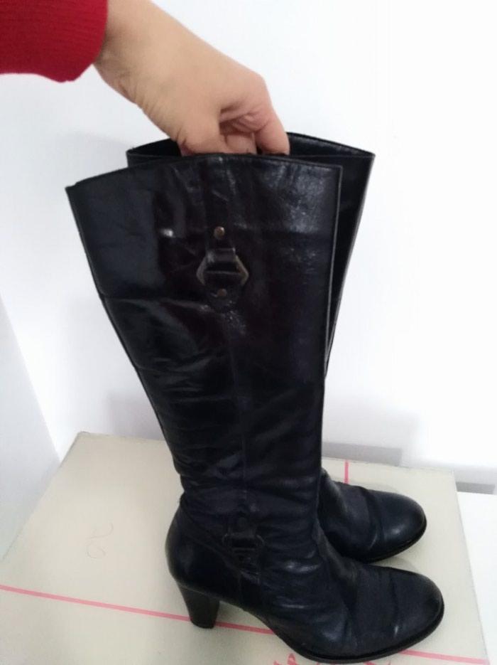 Čizme kožne, u dobrom stanju, izuzetno udobne, vel. 39. Photo 3