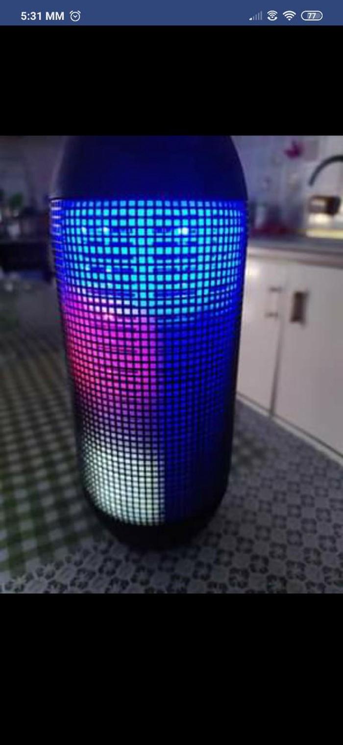 Ηχειο with led light. Photo 4