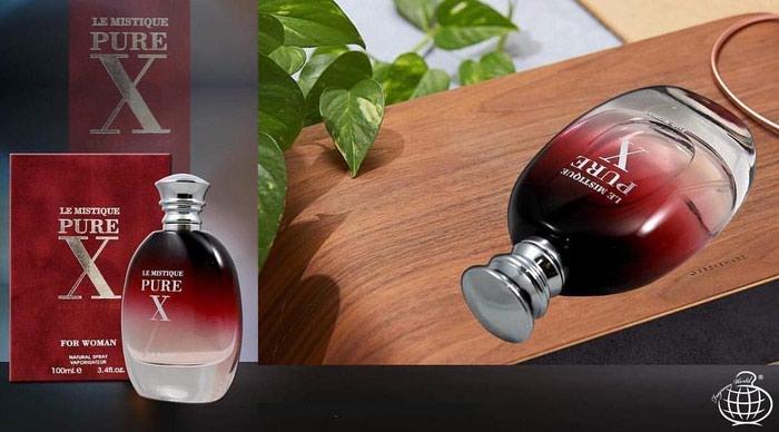 Fragrance World Le Mistique Pure X Eau De Parfum Natural Sprey for Women 100ml-30AZN