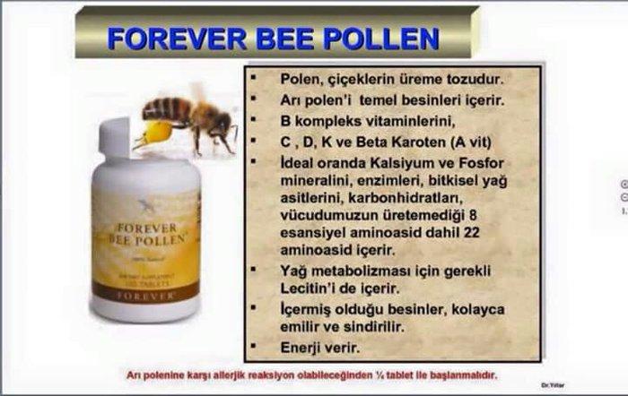 Bakı şəhərində FOREVER BEE POLLEN / ARI TOZCUĞU (100% Təbii)  Məhsulun adi: Forever B