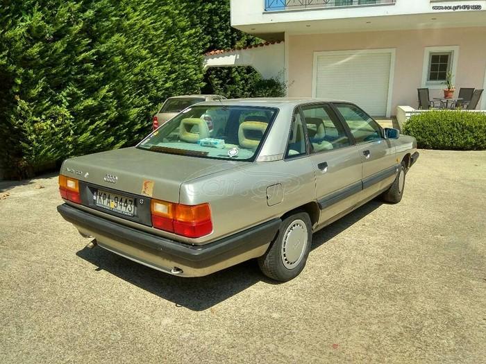 Audi 100 1988. Photo 1
