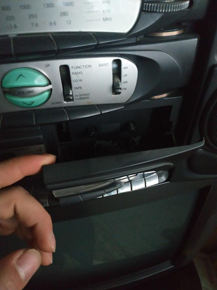 Kohne kaset magintafon gencede islek veziyetdedi. Photo 2