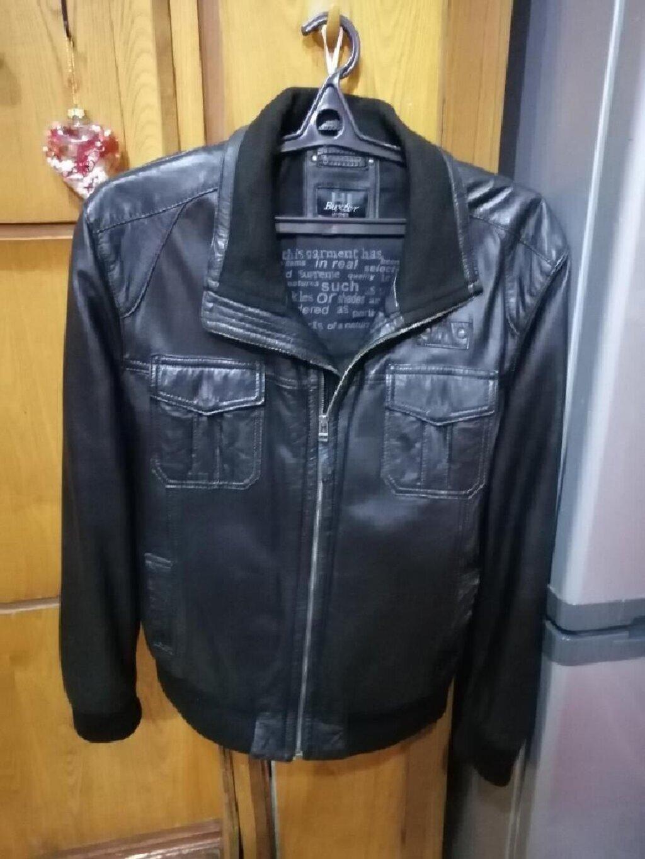 Куртка кожаный